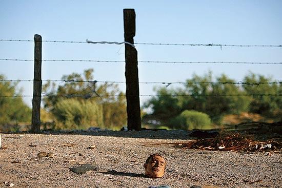 ראשו של אדם, מקסיקו / צלם: חוויאר מנזינו